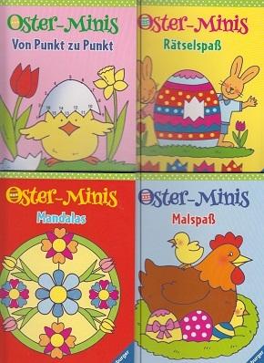 Ravensburger Oster-Minis Mal- und Rätselspaß (4 Hefte)