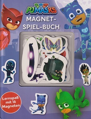 PJMasks Magnet-Spiel-Buch