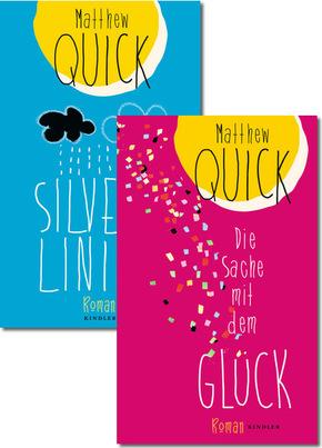 Buchpaket: Matthew Quick - Silver Linings & Die Sache mit dem Glück (2 Bücher)