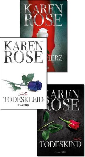 Karen Rose Thriller-Paket - Die Baltimore-Reihe (Band 1-3)