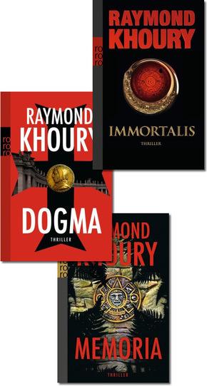 Raymond Khoury Bestseller - Thriller-Paket (3 Bücher)