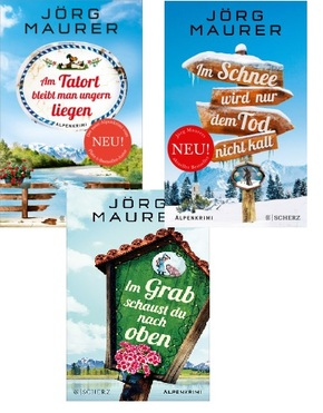 Jörg Maurer Alpenkrimis - Bestsellerpaket (3 Bücher)