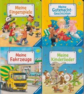 Mein Lieblingsbücher Paket - 4 Mini-Pappbilderbücher