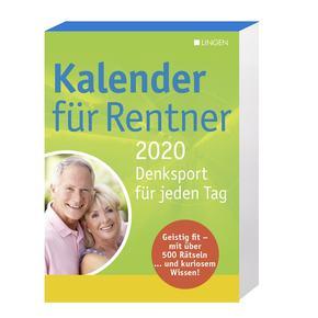 Kalender für Rentner 2020 - Abreißkalender Denksport für jeden Tag