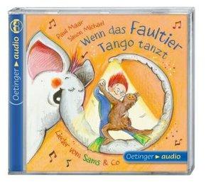 Wenn das Faultier Tango tanzt. Lieder vom Sams & Co., 1 Audio-CD