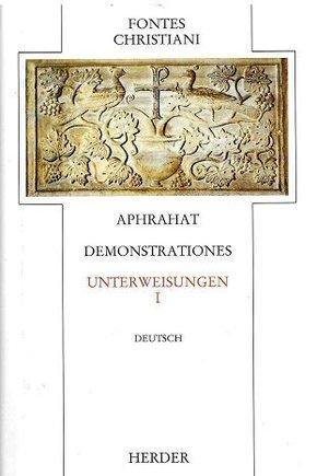 Fontes Christiani, 1. Folge: Unterweisungen; 5/1 - Tl.1