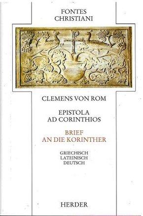 Fontes Christiani, 1. Folge: Brief an die Korinther - Epistola ad Corinthios
