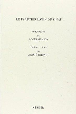 Le Psautier Latin du Sinai
