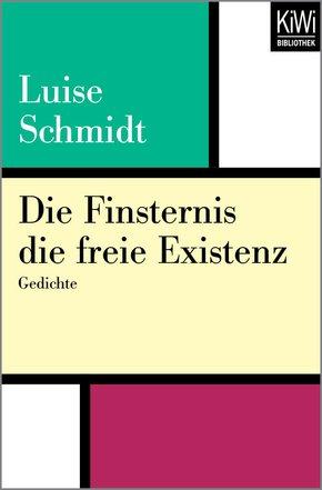 Die Finsternis die freie Existenz (eBook, ePUB)
