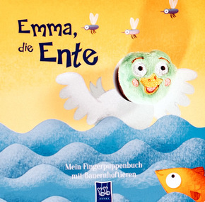 Mein Fingerpuppenbuch mit Bauernhoftieren - Emma, die Ente