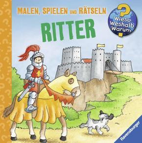 Ravensburger Minis Ritter: Malen, Spielen und Rätseln - Wieso? Weshalb? Warum?