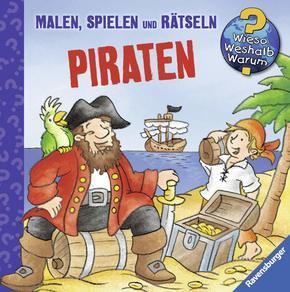 Ravensburger Minis Piraten: Malen, Spielen und Rätseln - Wieso? Weshalb? Warum?
