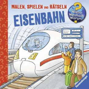 Ravensburger Minis: Eisenbahn - Wieso? Weshalb? Warum?