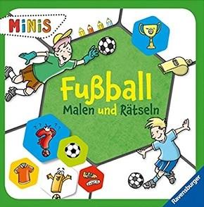 Ravensburger Minis - Fußball - Malen und Rätseln