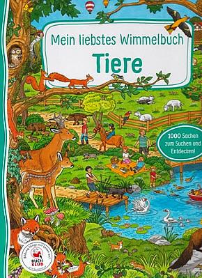 Mein liebstes Wimmelbuch - Tiere