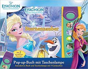 Die Eiskönigin - Pop-up-Buch mit Taschenlampe mit 5 Geräuschen