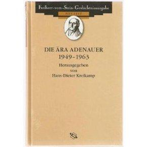 Die Ära Adenauer 1949-1963