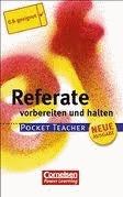 Pocket Teacher - Sekundarstufe I (mit Umschlagklappen): Referate: Vorbereiten und halten