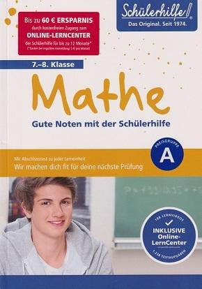 Mathe 7.-8. Klasse - Gute Noten mit der Schülerhilfe