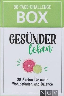 30-Tage-Challenge-Box - Gesünder leben