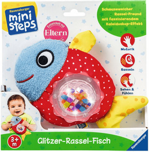 Glitzer-Rassel-Fisch - Ravensburger ministeps