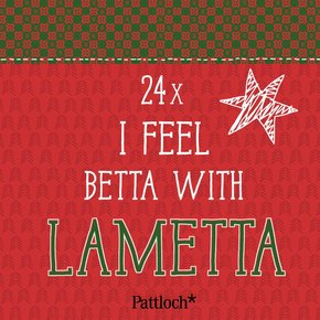 24 x I feel betta with lametta