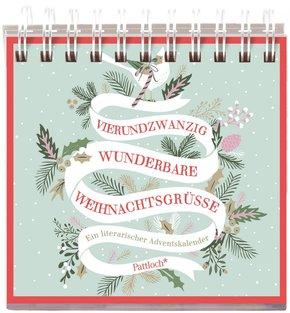 24x wunderbare Weihnachtsgrüße