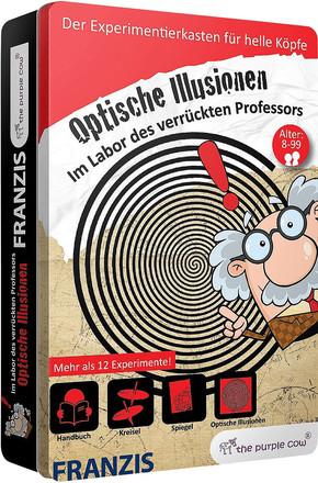 Im Labor des verrückten Professors: Optische Illusionen (Experimentierkasten)