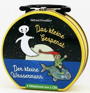 Das kleine Gespenst - Der kleine Wassermann - Mein Hörbuch-Koffer (2 Hörbücher auf 4 CDs)