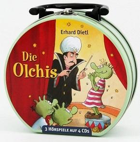 Die Olchis (Neue Folgen) - Mein Hörbuch-Koffer (3 Hörspiele auf 4 CDs)