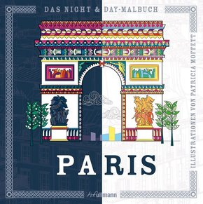 Das Night & Day-Malbuch: Paris