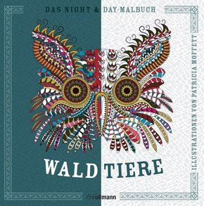 Das Night & Day-Malbuch: Waldtiere