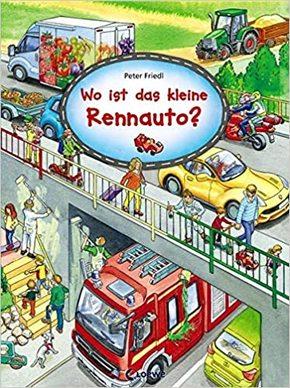 Wo ist das kleine Rennauto?