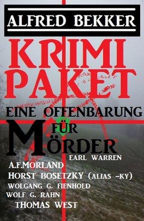 Eine Offenbarung für Mörder: Krimi Paket (eBook, ePUB)