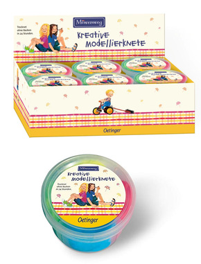 Kreative Modellierknete - Möwenweg (12 Dosen)