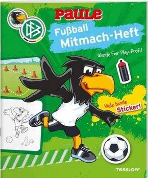 DFB Paule Fußball Mitmach-Heft Fair Play