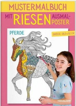 Mustermalbuch Pferde