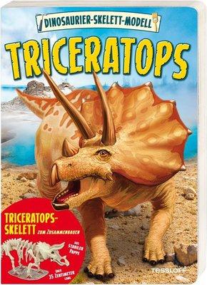 Dinosaurier-Skelett-Modell Triceratops