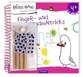 Krickel-Krakel Finger- und Handmaltricks