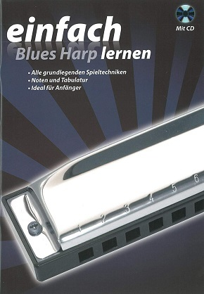 einfach Blues Harp lernen Mit CD