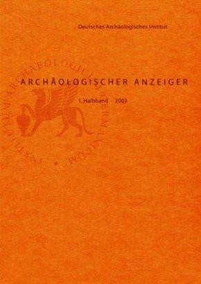 Archäologischer Anzeiger 2002 - Halbbd.1