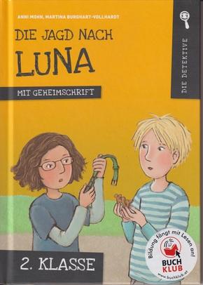 Die Jagd nach Luna (Mit Geheimschrift)