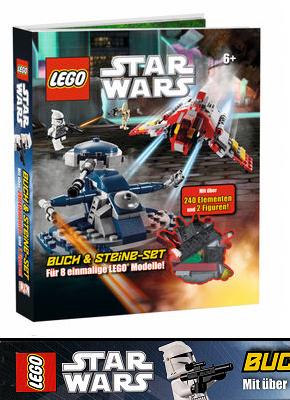 LEGO® Buch & Steine-Set - Star Wars™ (Mit über 240 Elementen und 2 Minifiguren)