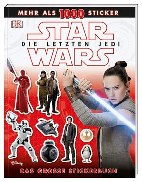 Star Wars(TM) Episode VIII Die letzten Jedi. Das große Stickerbuch