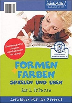 Schülerhilfe - Formen und Farben spielen und üben (bis 1.Klasse)