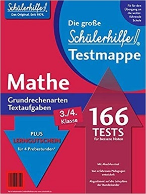 Schülerhilfe - Testmappe Mathe Grundrechenarten/Textaufgaben (Kl. 3.-4.)