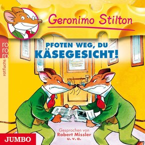 Pfoten weg, du Käsegesicht!, Audio-CD