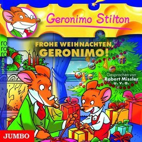 Frohe Weihnachten Geronimo Stilton!, 1 Audio-CD