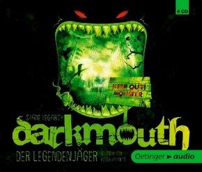 Darkmouth - Der Legendenjäger, 4 Audio-CDs