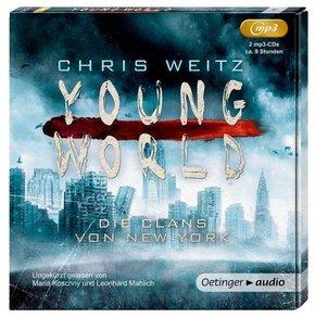 Young World - Die Clans von New York, 2 MP3-CDs